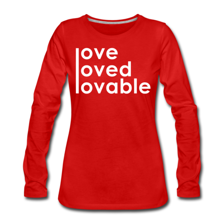 Loved - Wom - LSW - Red 1