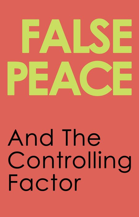 False Peace Blog Cover 3A - HolySmorgasBlog